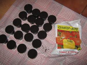 Горшки для томатной рассады