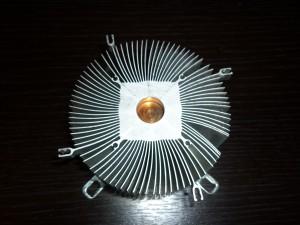 Радиатор для светодиодной лампы из кулера
