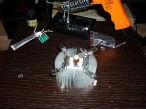 Пайка 1вт светодиодов между собой